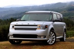 2018 Ford Flex SEL in Ingot Silver Metallic - Static Front Left View