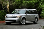 2018 Ford Flex SEL in Ingot Silver Metallic - Static Front Left Three-quarter View