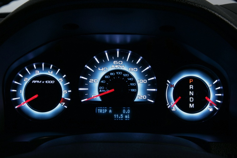 2011 Ford Fusion Sport Gauges Picture