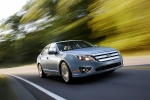 Picture of 2011 Ford Fusion Hybrid in Light Ice Blue Metallic