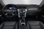 2011 Ford Fusion Hybrid Cockpit in Charcoal Black
