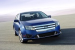 2012 Ford Fusion Sport in Steel Blue Metallic - Static Front Right View