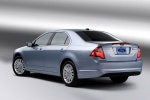 Picture of 2012 Ford Fusion Hybrid in Light Ice Blue Metallic