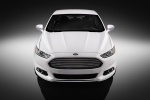2013 Ford Fusion Titanium AWD in Oxford White - Static Frontal View