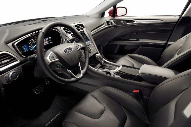 2014 Ford Fusion Titanium AWD Front Seats Picture
