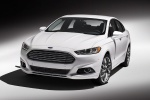 2015 Ford Fusion Titanium AWD in Oxford White - Static Front Left View