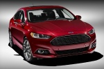 2016 Ford Fusion Titanium AWD in Ruby Red Metallic Tinted Clearcoat - Static Front Right View