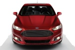 2016 Ford Fusion Titanium AWD in Ruby Red Metallic Tinted Clearcoat - Static Frontal View
