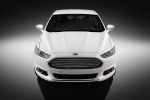 2016 Ford Fusion Titanium AWD in Oxford White - Static Frontal View