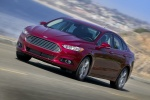 2016 Ford Fusion Titanium AWD in Ruby Red Metallic Tinted Clearcoat - Driving Front Left Three-quarter View