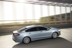 2016 Ford Fusion Hybrid SE - Driving Rear Right Three-quarter View