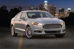 2016 Ford Fusion Hybrid SE in Ingot Silver - Static Front Right Three-quarter View