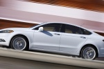 2016 Ford Fusion Titanium AWD in Oxford White - Driving Side View