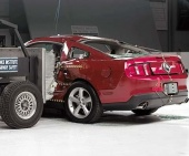 2010 Ford Mustang IIHS Side Impact Crash Test Picture