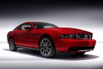 2010 Ford Mustang GT Coupe in Torch Red - Static Front Right Three-quarter View