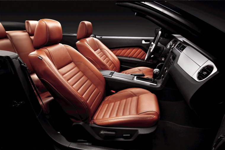 2011 Ford Mustang Convertible Front Seats Picture