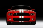 2011 Shelby GT500 Coupe in Race Red - Static Frontal View