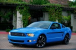 Picture of 2011 Ford Mustang V6 Coupe in Grabber Blue