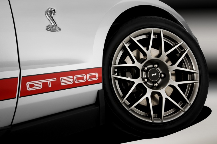 2012 Shelby GT500 Convertible Rim Picture
