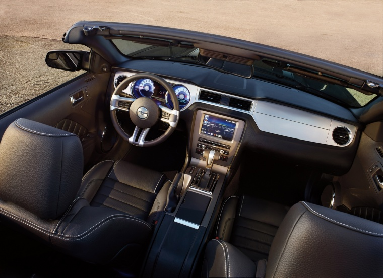 2012 Ford Mustang Convertible Interior Picture