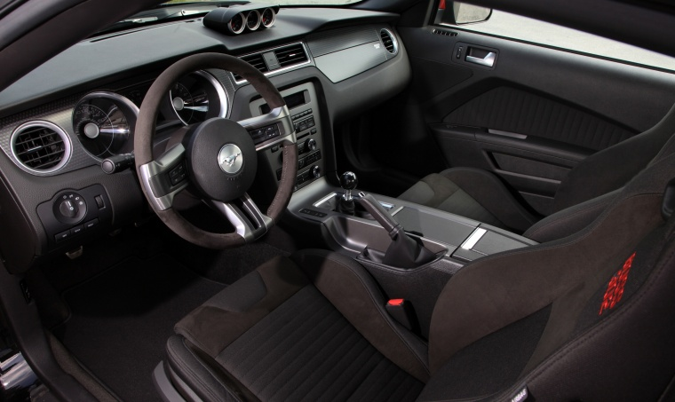2012 Ford Mustang Boss 302 Coupe Interior Picture