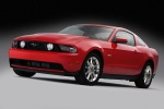 2012 Ford Mustang GT Coupe in Race Red - Static Front Left Three-quarter View
