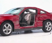 2013 Ford Mustang IIHS Side Impact Crash Test Picture