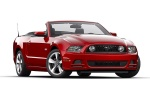 Picture of 2013 Ford Mustang GT Convertible in Red Candy Metallic Tinted Clearcoat