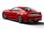2015 Ford Mustang GT Fastback in Race Red - Static Rear Left Three-quarter View