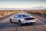 2016 Ford Mustang GT Fastback in Ingot Silver Metallic - Static Rear Left View