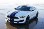 2016 Shelby GT350 in Oxford White - Static Front Left Top View
