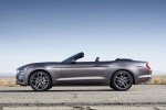 2016 Ford Mustang GT Convertible in Magnetic Metallic - Static Side View