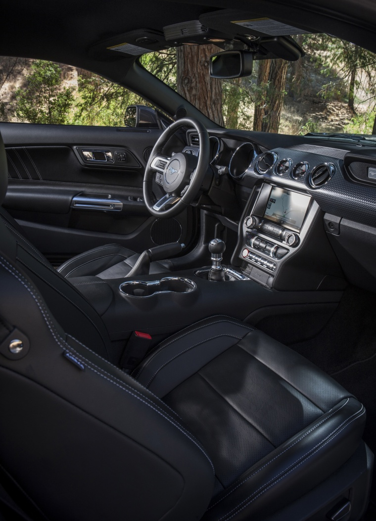 2017 Ford Mustang GT Fastback Front Seats Picture