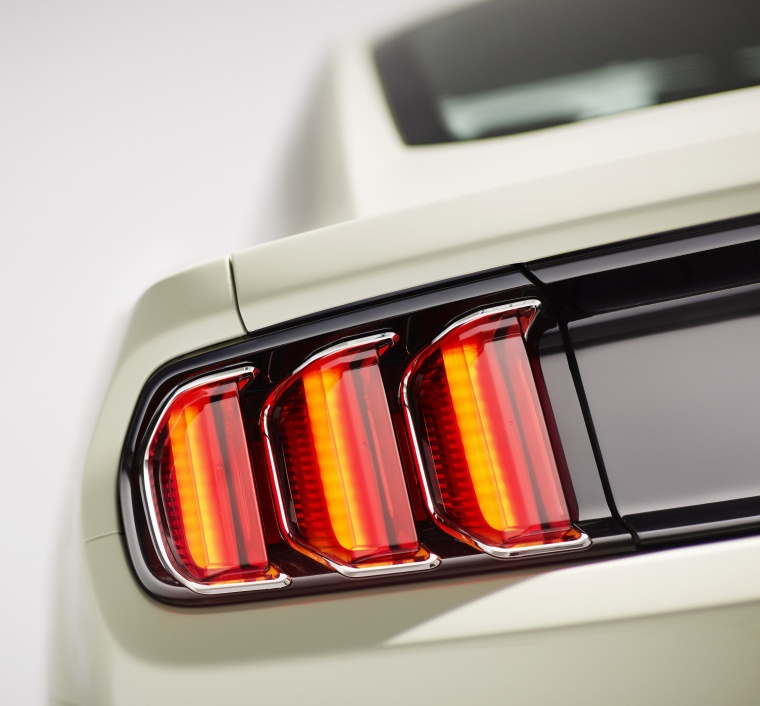 2017 Ford Mustang EcoBoost Fastback Tail Light Picture
