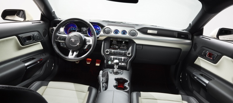 2017 Ford Mustang EcoBoost Fastback Cockpit Picture