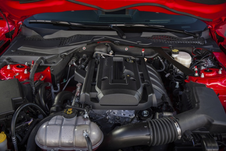 2017 Ford Mustang EcoBoost Fastback 2.3-liter 4-cylinder turbocharged EcoBoost Engine Picture
