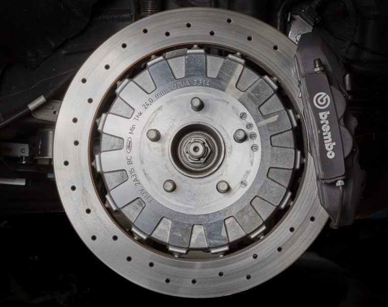 2017 Shelby GT350 Brake Disc Picture