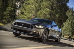 2017 Ford Mustang GT Fastback in Guard Metallic - Driving Front Left Three-quarter View
