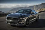2017 Ford Mustang GT Fastback in Guard Metallic - Static Front Left Three-quarter View
