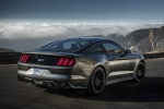2017 Ford Mustang GT Fastback in Guard Metallic - Static Rear Right Three-quarter View