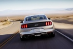 2017 Ford Mustang GT Fastback in Ingot Silver Metallic - Driving Rear View