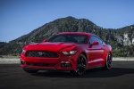 2017 Ford Mustang EcoBoost Fastback in Race Red - Static Front Left View