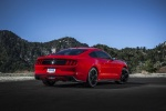 2017 Ford Mustang EcoBoost Fastback in Race Red - Static Rear Right Three-quarter View