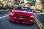 2017 Ford Mustang EcoBoost Fastback in Race Red - Driving Frontal View