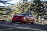 2017 Ford Mustang EcoBoost Fastback in Race Red - Driving Front Left Three-quarter View