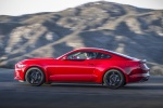 2017 Ford Mustang EcoBoost Fastback in Race Red - Driving Side View