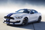2017 Shelby GT350 in Oxford White - Static Front Left Three-quarter View