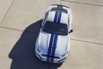 2017 Shelby GT350 in Oxford White - Static Frontal Top View