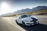 2017 Shelby GT350 in Oxford White - Driving Front Right View