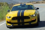 2017 Shelby GT350 R in Triple Yellow Tri-Coat - Driving Frontal View